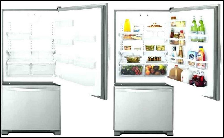10 Cubic Foot Refrigerator With Ice Maker