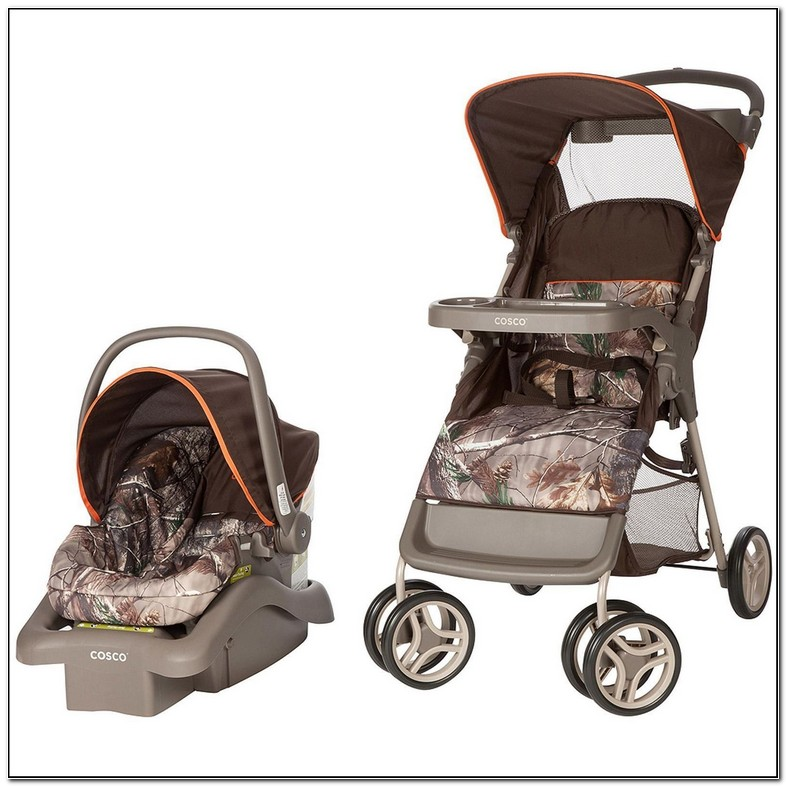 Camo Stroller And Carseat