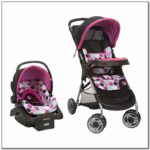 Cosco Minnie Mouse Car Seat And Stroller