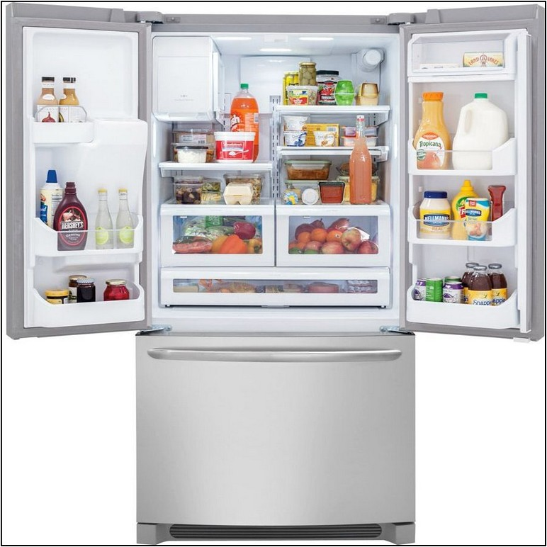 Counter Depth French Door Refrigerator With Dual Ice Makers