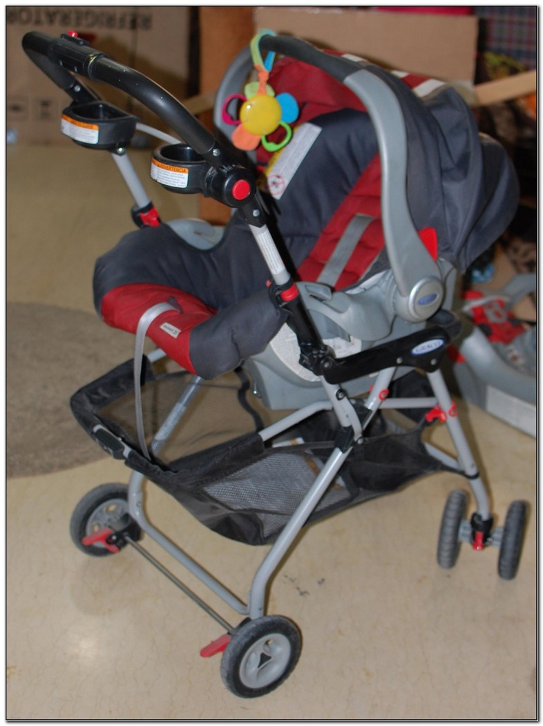Graco Snap And Go Stroller And Carseat