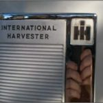 International Harvester Refrigerator Door Handle