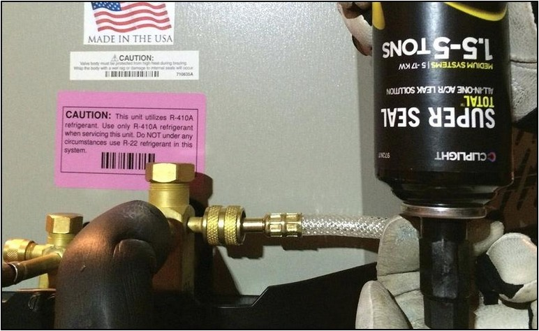R410a Refrigerant Recharge Kit Home Depot