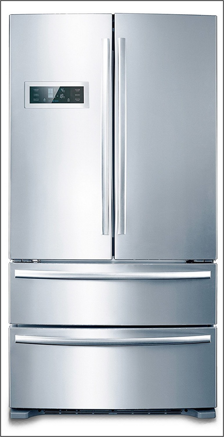 Refrigerator 32 Inches Wide French Doors