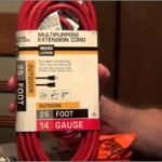 Safe Refrigerator Extension Cord