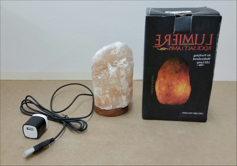 Salt Rock Lamp Recall Michaels