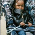 Versace Stroller With Chain