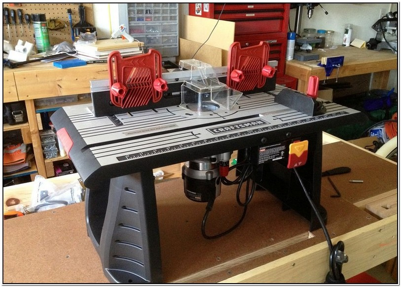 Craftsman Router And Table Combo Review