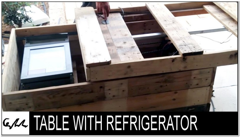 Fridge Coffee Table Diy