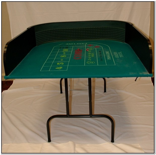 Half Craps Table For Sale