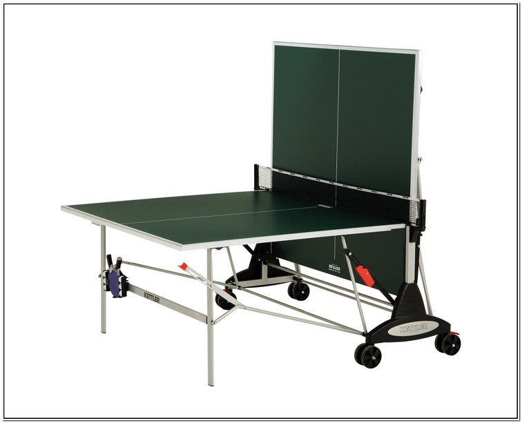 Kettler Ping Pong Table Assembly