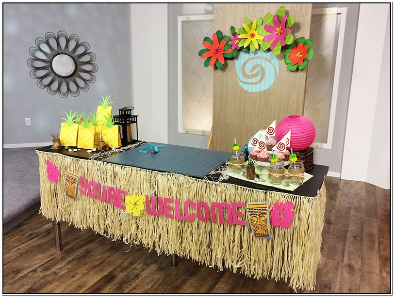 Moana Party Table Cover
