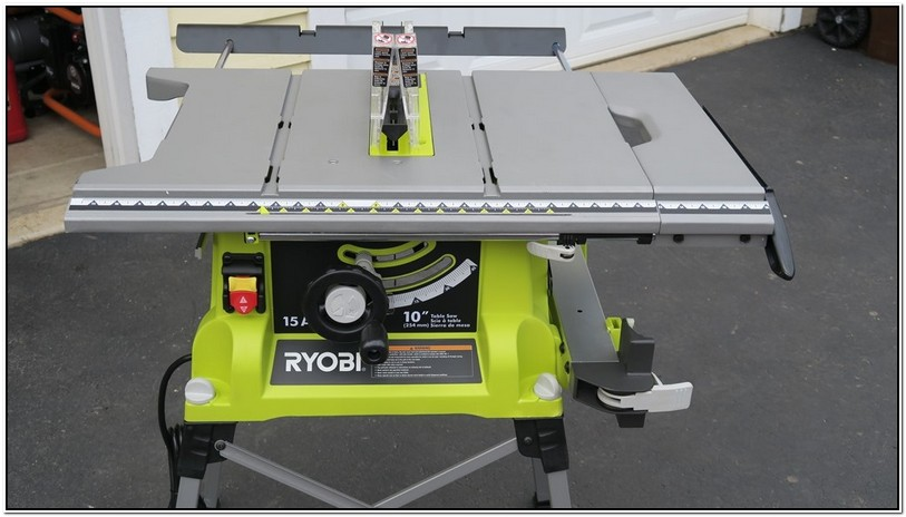 Ryobi 10 Inch Table Saw Review