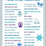 Table Topics Ideas For Winter