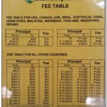 Western Union Fees Table Malaysia