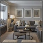 What Colour Goes With Light Grey Sofa