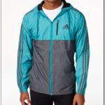 Adidas Mens Essential Woven Full Zip Jacket
