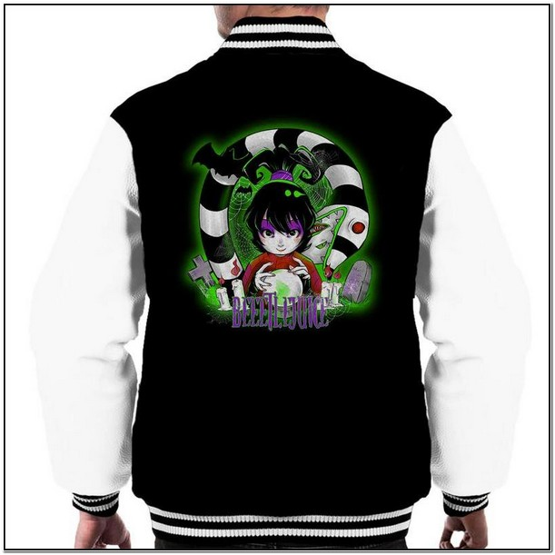 Beetlejuice Jacket Mens