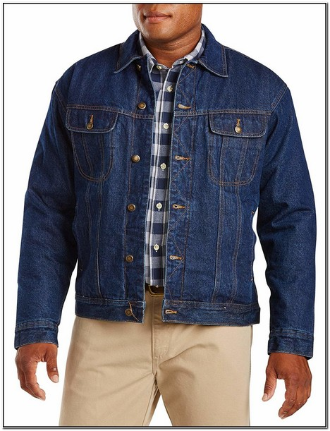 Big And Tall Denim Jackets