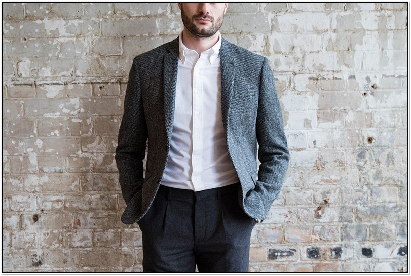 Blazer Or Suit Jacket With Jeans