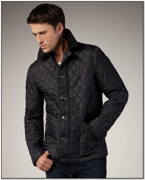 Burberry Quilted Jacket Mens Sale