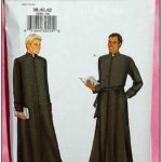 Clergy Jacket Patterns
