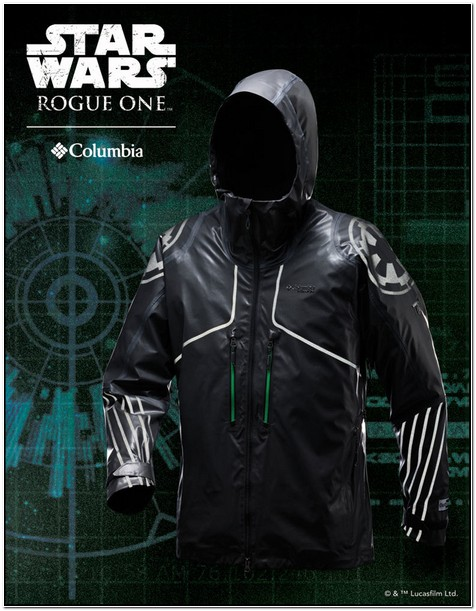 Columbia Star Wars Jacket For Sale