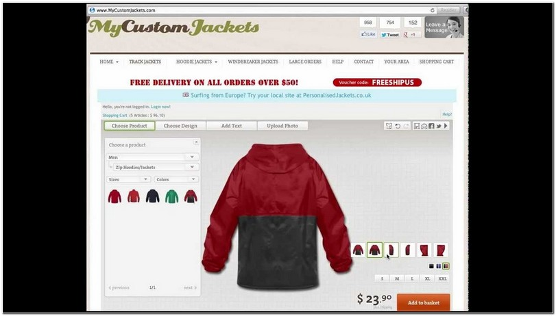 Create Your Own Jacket