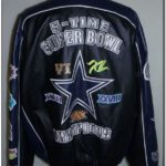 Dallas Cowboys Super Bowl Leather Jacket