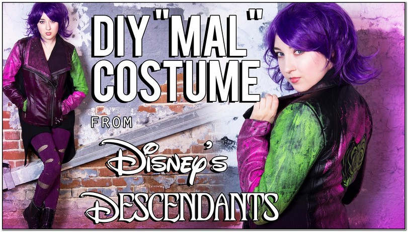 Descendants Mal Jacket Diy