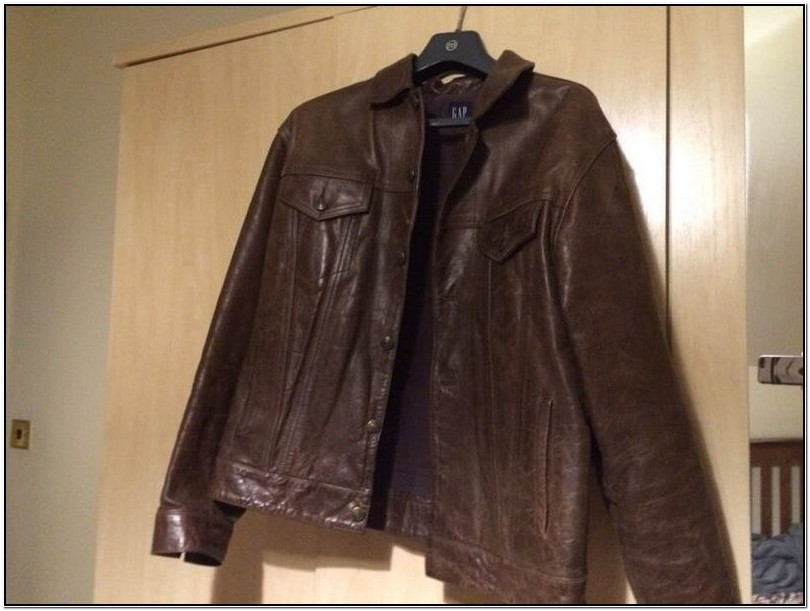 Gap Mens Jackets Leather