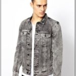 Grey Denim Jacket Outfit Mens