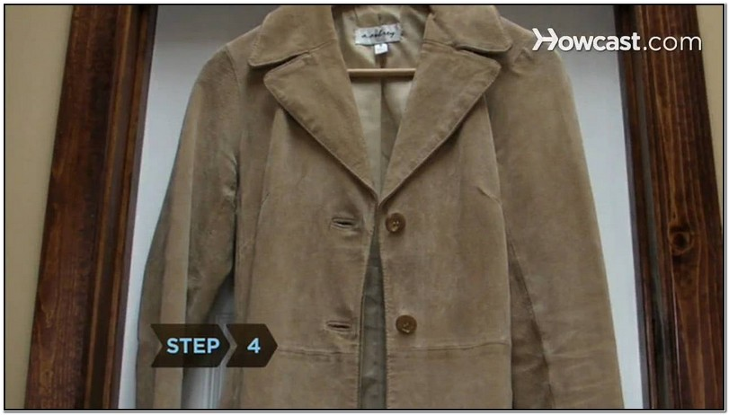 How To Clean Suede Jacket Collar