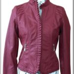 Jou Jou Red Leather Jacket