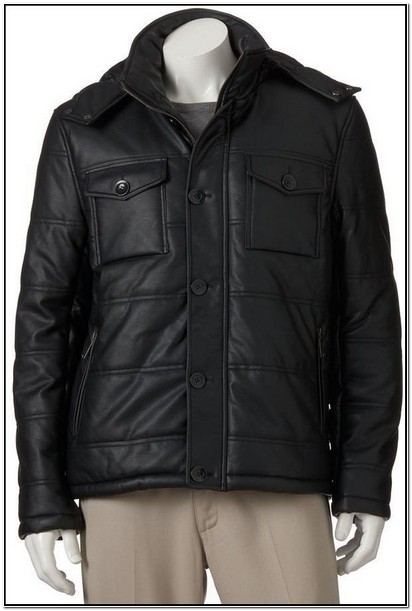 Kohls Big And Tall Leather Jackets