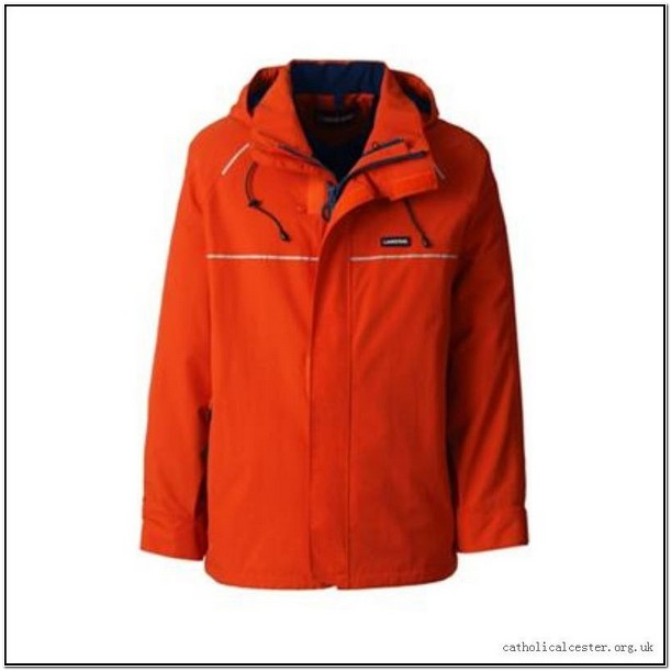Lands End Gore Tex Rain Jacket