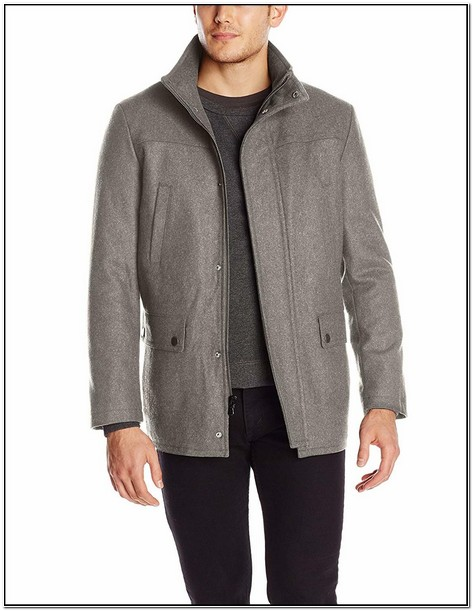 Mens Barn Jacket Wool