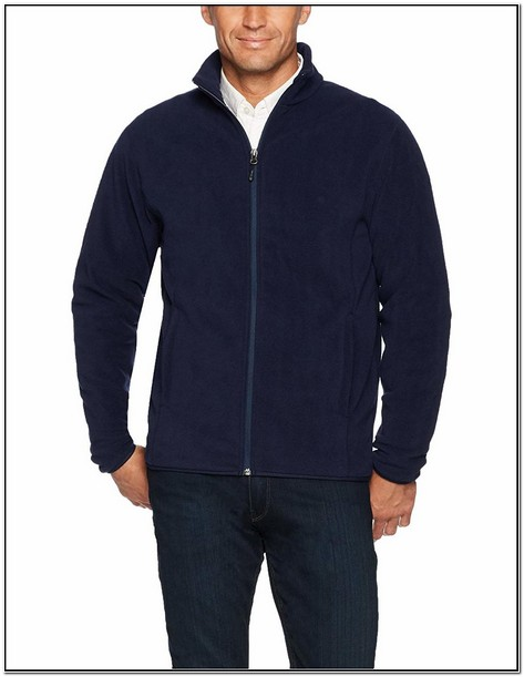 Mens Fleece Jacket With Inside Pockets