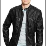 Michael Kors Leather Jacket Mens