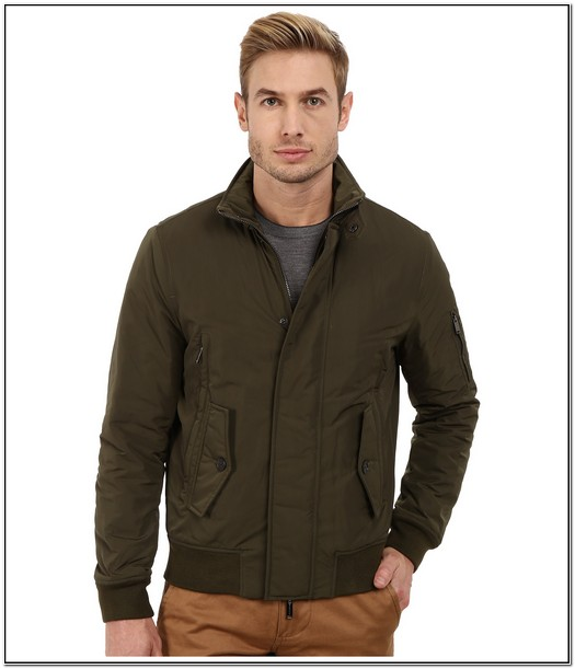 Michael Kors Mens Jackets Green