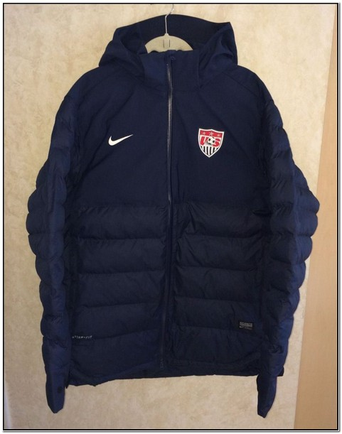 Nike Winter Soccer Jackets