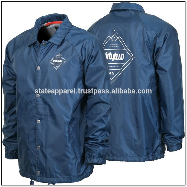 Plain Coach Jacket Wholesale
