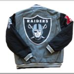 Raiders Bomber Jacket Ebay