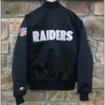 Raiders Bomber Jacket Starter