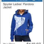Spyder Pandora Jacket Costco
